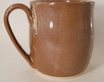 Unique 36 oz Mug Handmade Stoneware Pottery Mug #170665 Large Coffee Mug