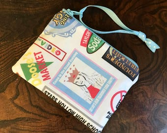 Gilmore Girls Stars Hollow Coin Purse/ credit card holder