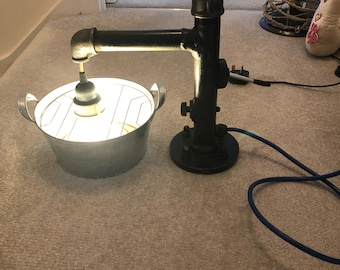 Upcycled Light Feature