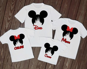 Disney shirt, magic kingdom shirt, mickey shirt, Disney family shirts