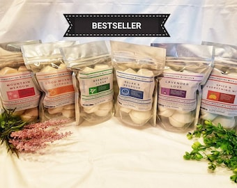 Mothers day gift, Shower steamer 10 pack, Handmade Natural Aromatherapy, gift for him, treat yourself, basket stuffer, adult gift for her