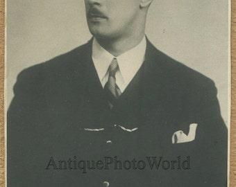 Vasiliy Nebolsin Russian Soviet conductor antique music photo
