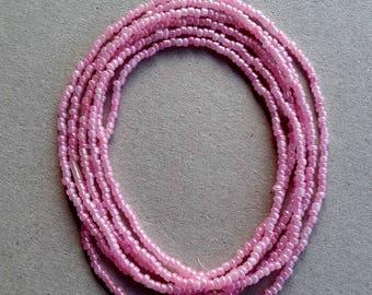 Pink African Waist Bead