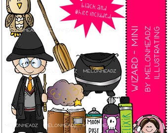 Wizard clip art - Mini
