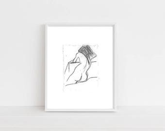 8 x 10 Illustration Print - Framed or Unframed