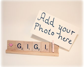 Gigi Gift, Love Gigi, Gigi Photo, Gigi frame, Mothers Day, Grammy Frame, Mom Gift, Grammy, Grammy Gift, Mimi, Photo Holder, Mom Frame, Gram