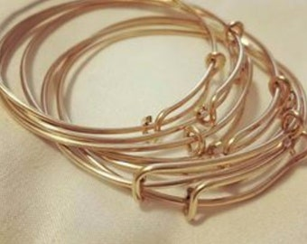 Reduced Price 50% off - Adjustable Bangle, Made in USA - only 25 left!