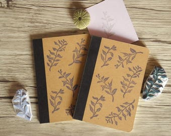 Midnight Leaves - Little Blue Notebook!