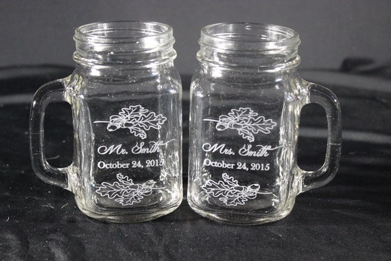 custom mason jar personalized mason jar engraved mason jar