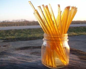 Honey Sticks -Pure Fall Honey - 25 honey filled straws