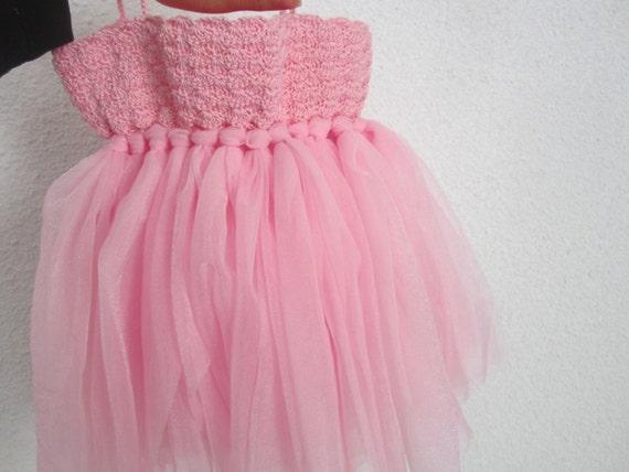 Baby girl tutu dress st anniversary dress baby girl crochet