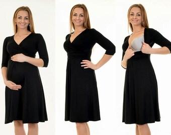 3-in-1 maternity clothes maternity dress still dress maternity wear