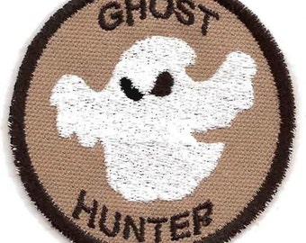 Ghost Hunter Geek Merit Badge Patch