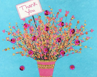 Glittery Thank You Bouquet