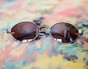 Vintage Oval 90's Sunglasses
