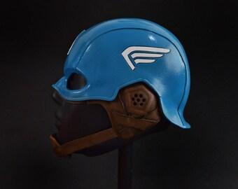 Captain America-First Avenger-Foam helmet-Captain America's helmet-First Avenger