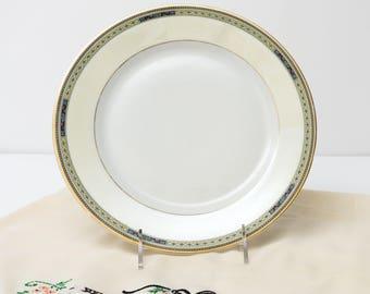 "Antique Bavarian China Heinrich & Co Pattern 10263 Dinner Plate 10"""