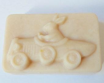 Racing Peter Rabbit Cold Pressed Natural Handmade Soap