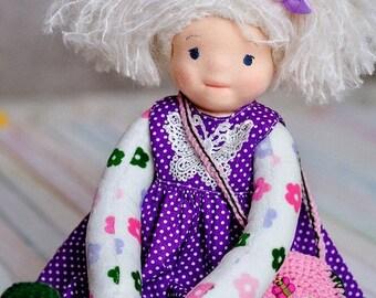 Handmade doll Charlotte Dandelion