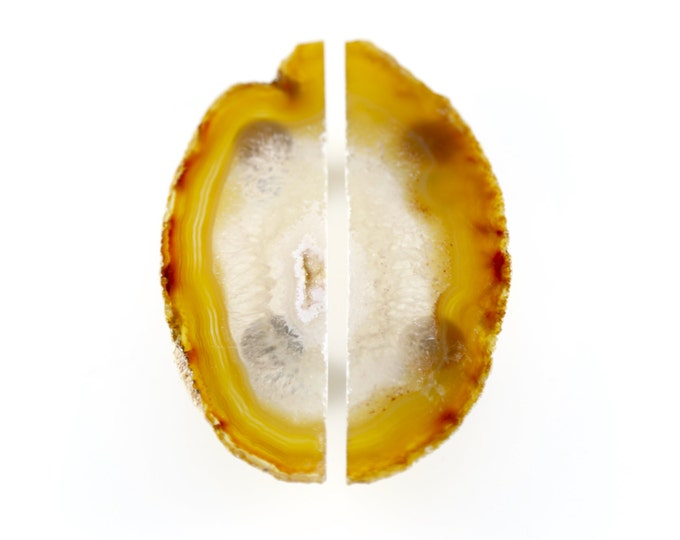 Agate Slice Knobs/ Agate Double Knob/ Agate Drawer Pull/ Agate Cabinet Knob/ Agate Dresser Knob