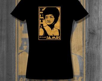 Etta James Jazz T shirt music tee t shirt tops t-shirts| Free Shipping