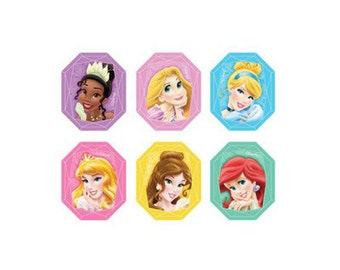 DISNEY PRINCESS GEMSTONE Cupcake Rings