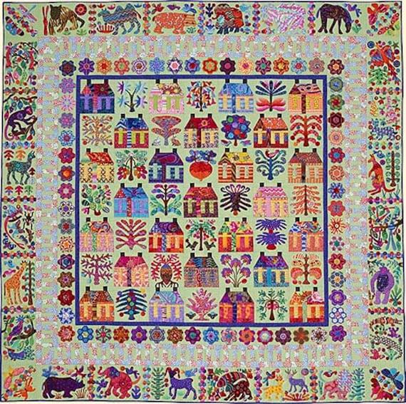 VILLAGE Pattern by Kim McLean - Appliqué