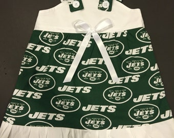 NFL New York Jets Baby Infant Toddler Girls Dress  You Pick Size