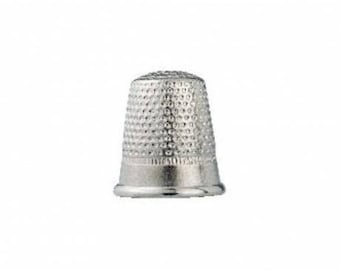 Thimble silver steel 15mm