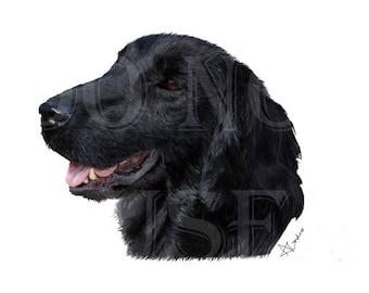 Pet Portrait Commission - Printed