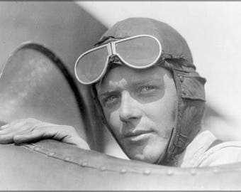 Poster, Many Sizes Available; Charles Lindbergh