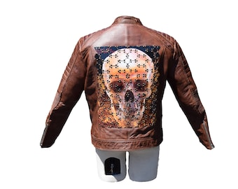 Embellished Motorcycle Jacket