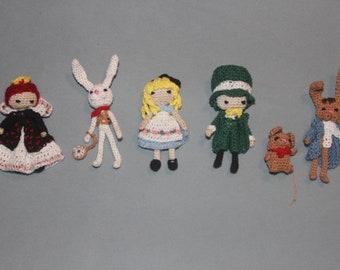 Crochet Wonderland Friends