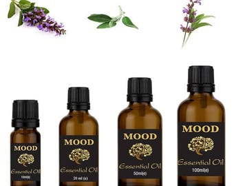 Clary sage essential oil natural aromatherapy essential oils