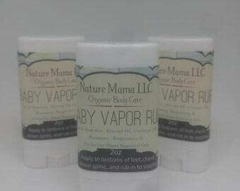 Organic Baby Vapor Rub