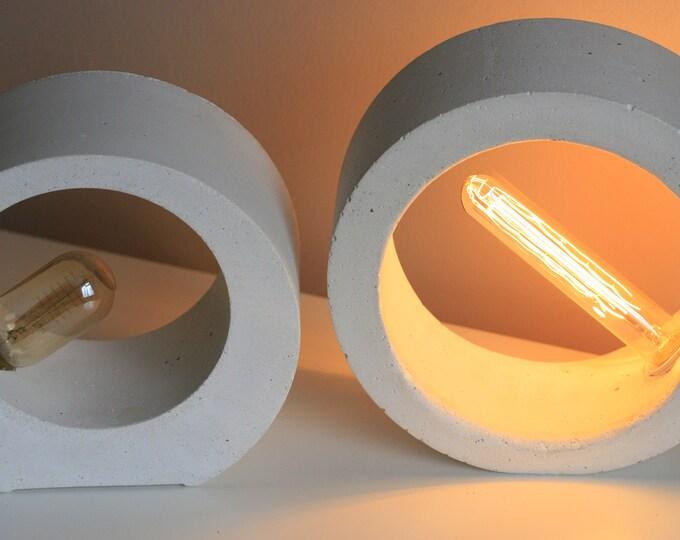 Concrete ORB Table Lamp | Concrete Light | Urban | Industrial