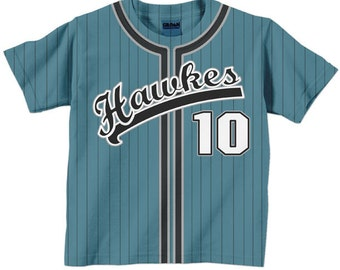 Personalized Baseball Shirt - Personalized Team  T-Shirt Jersey - Any Color - Any Name