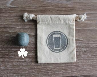 Shamrock Beer Stone - Olive - Elevate Your Beer!