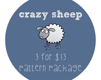 3 Patterns Package Discount / Choose Any 3 PDF Patterns