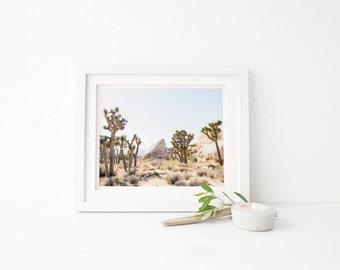 home decor, joshua tree wall art, cactus print, succulent print, gift for her, botanical print, minimalist wall art, desert print, nature