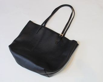 Large Faux Leather Purse