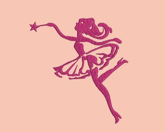 Fairy Machine Embroidery Designs, instantly download
