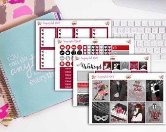 Fifty Shades Darker Planner Sticker Kit