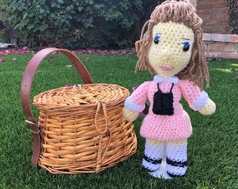 Crochet Suzy Doll Moonrise Kingdom.