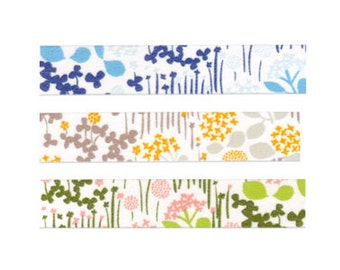 Classiky little garden washi tape sampler set