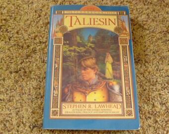 Stephen R Lawhead BOOK paperback TALIESIN