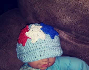 Crochet sun hat/beanie for babies