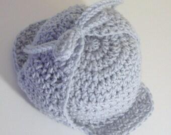 Deerstalker Sherlock Holmes Hat PDF Crochet Pattern - Newborn to Adult INSTANT DOWNLOAD