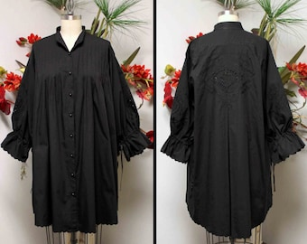 Adorable over sized Plus size shirt  Quality Cotton with embroidery details and much more XL TO 5XL