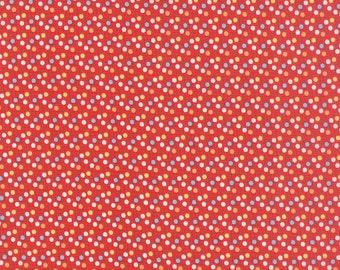 30's Playtime 2015 Scarlet Yardage by Chloe's Closet for Moda Fabrics #3304519 100% Cotton